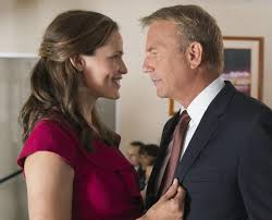 Jennifer Garner and Kevin Costner